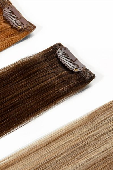 Colour Swatches for Classic Clip-in Hair Extensions