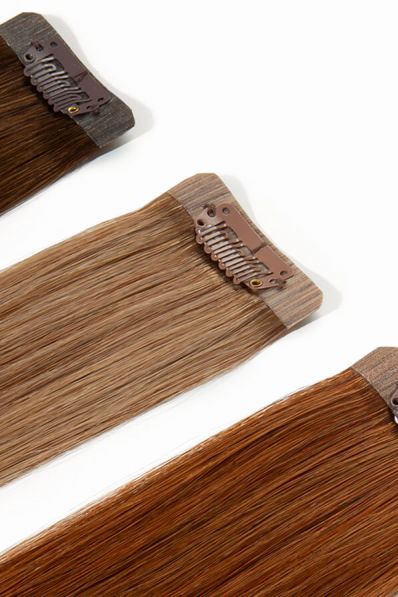 Colour Swatches for Seamless Clip-in Hair Extension Swatches