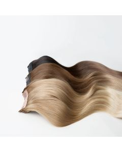 Ombre Quad Weft Clip In Hair Extensions