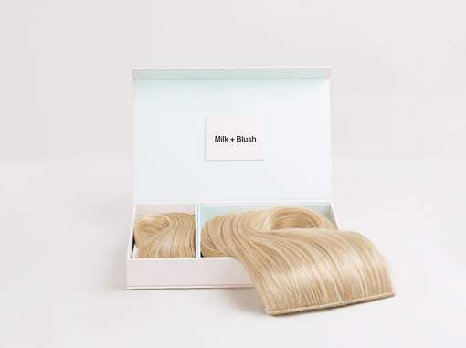 Classic hair extensions weft