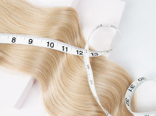 Different lengths of hair extensions, extra long or hair extensions for short hair