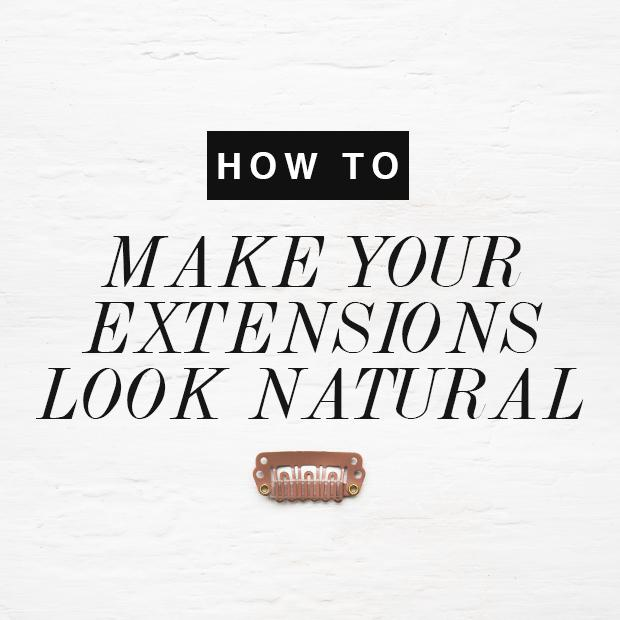 How To Make Hair Extensions Blend With Your Hair