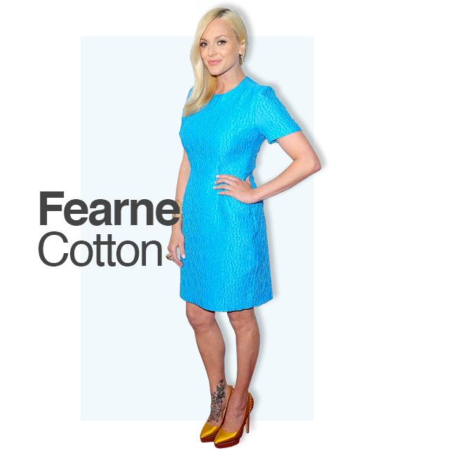Fearne Cotton Hair Extensions