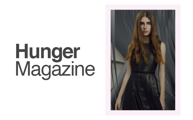 Hunger Magazine use Milk and Blush Hair Extensions