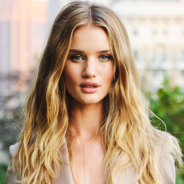 Rosie Huntington Whitely Hair Extensions