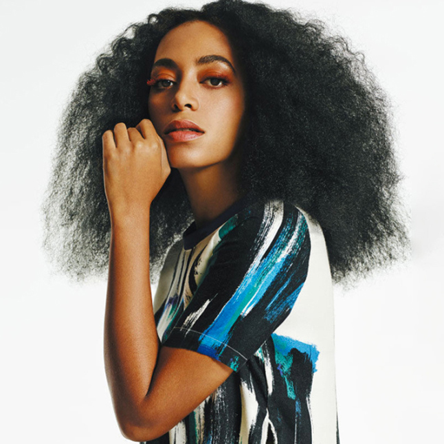 Solange Knowles Hair Extensions