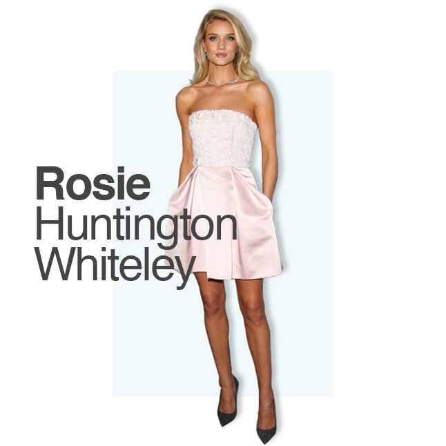 Rosie Huntington Whiteley Hair Extensions