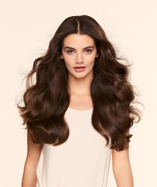 Extra thick clip in hair extensions