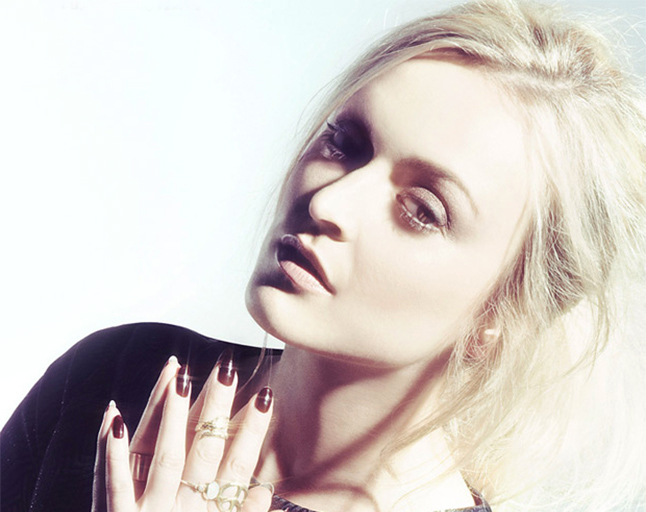 Fearne Cotton Wearing Hair Extensions