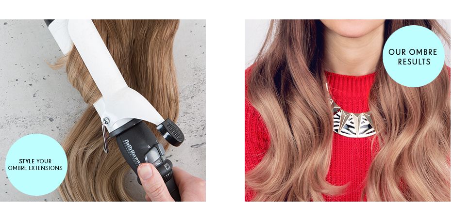 ombre hair guide step style your hair extensions