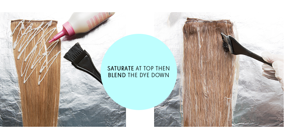 ombre hair extensions guide saturate blend