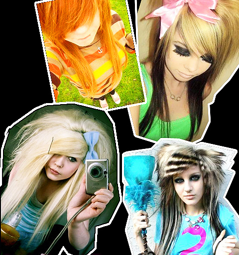 Emo scene hair extensions hair extensions blog hair tutorials scene hair pmusecretfo Images