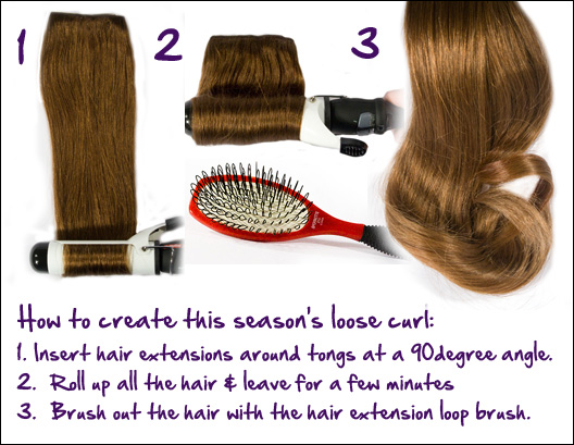 123 How To Curl Hair Extensions