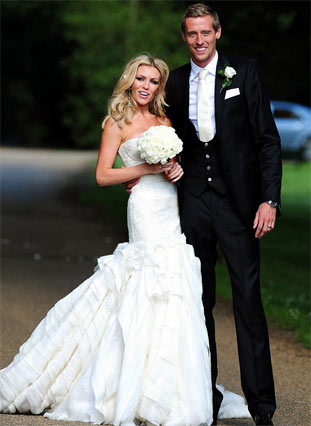 Wondrous Celebrity Wedding Hair Kate Moss And Abbey Clancy Hair Hairstyle Inspiration Daily Dogsangcom