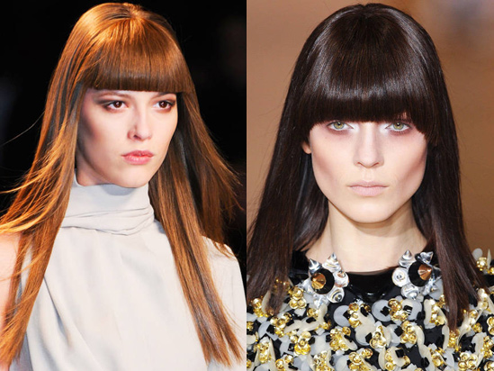 Autumn Hairstyle Trends Fringe