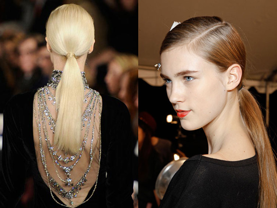 Autumn Hairstyle Trends Ponytail