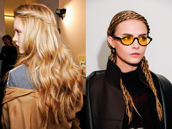 Autumn Hairstyle Trends Twisted Hairstyles