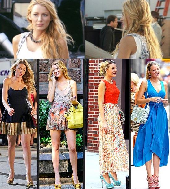 Blake Livelys Hair Gossip Girl Series Six Hair Extensions Blog