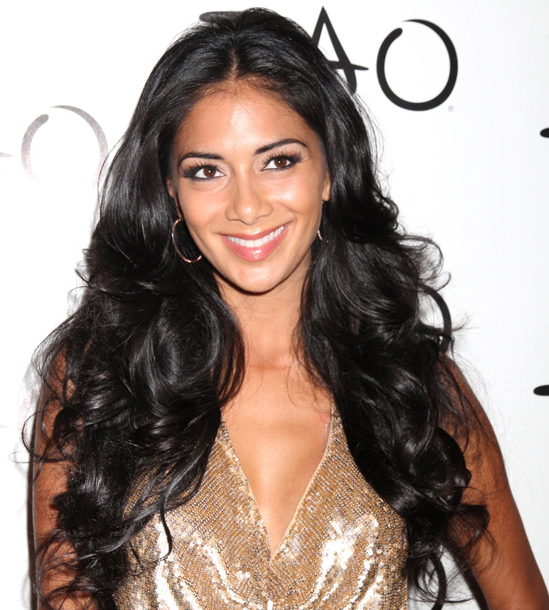 brown-hair-extensions-Nicole-Scherzinger's-Hair