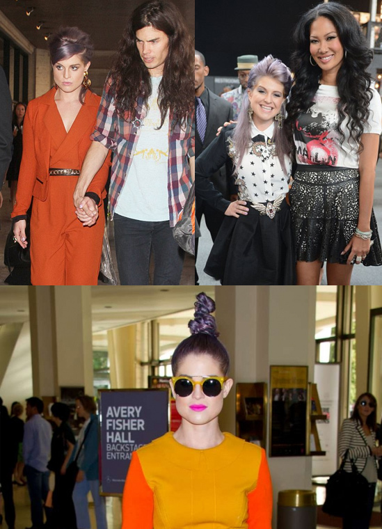 Celebrity-Hairstyles-at-New-York-Fashion-Week-Kelly-Osbourne