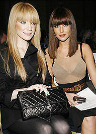 Cheryl cole and Nicola Roberts hair extensions