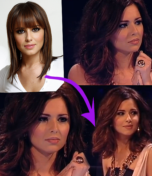 Cheryl Cole hair cut
