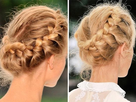 Royal Crown Braid Hair Tutorial / Hair Extensions Blog ...