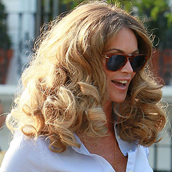 Trend Alert Celebs With Big Hair Hair Extensions Blog