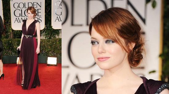 The Golden Globes Red Carpet Hair Styles | Hair Extensions ...