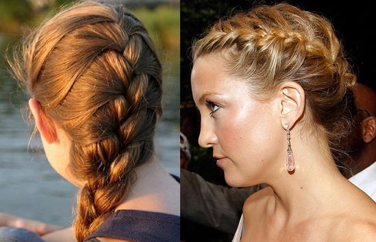 French Braid Hair Tutorial   Hair Extensions Blog   Hair ...