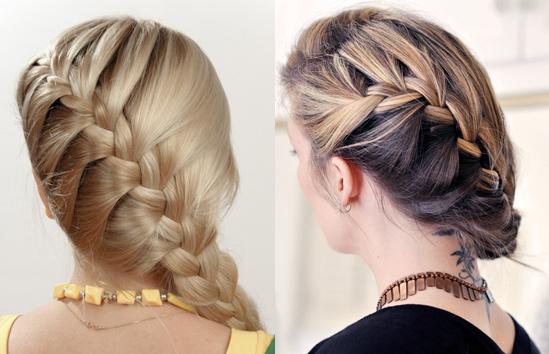 French Braid Hair Tutorial Hair Extensions Blog Hair