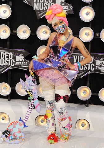 Nicki-Minaj-Coloured-Hair