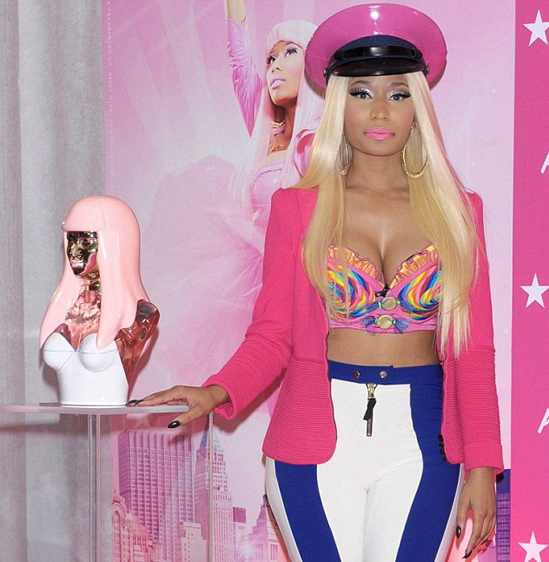 Nicki-Minaj's-Hair-Fragrance-Launch
