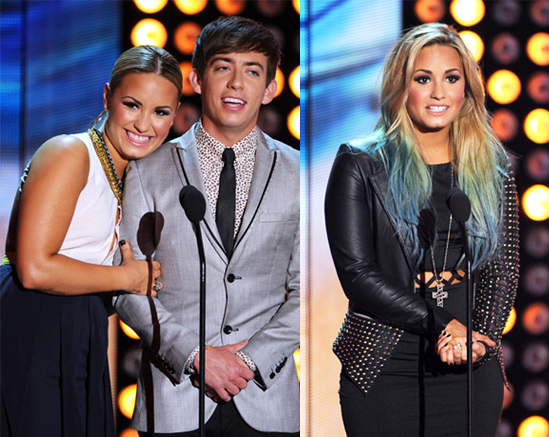 Red-Carpet-Hairstyles-Teen-Choice-Awards-Demi-Lovato