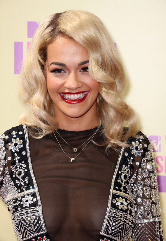 Red Carpety Hairstyles Rita Ora Hair