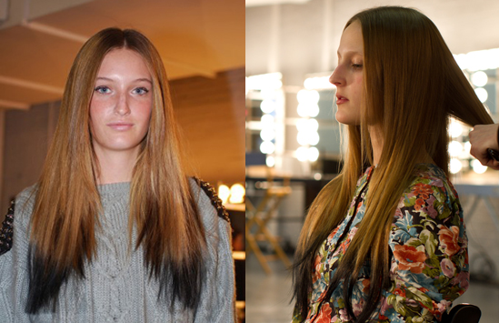 The Reverse Ombre Hair Trend Hair Extensions Blog Hair