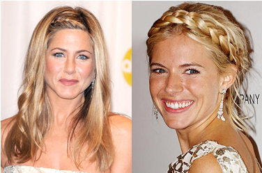 Hair extensions for christmas hair styles hair extensions blog sienna miller jennifer aniston plait pmusecretfo Image collections