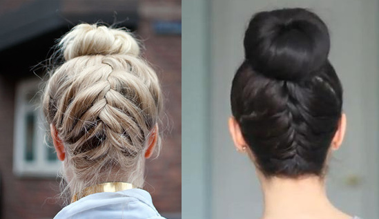 Summer-Hairstyle-Upside-Down-French-Braided-Bun