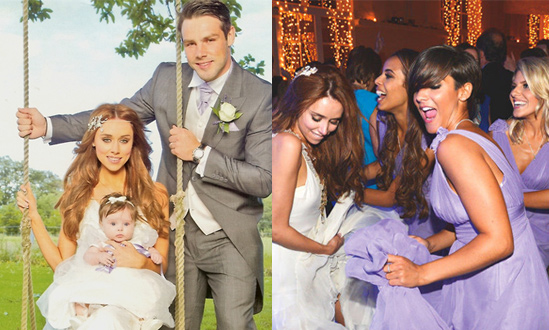 The-Saturdays-Hair-Una's-Wedding