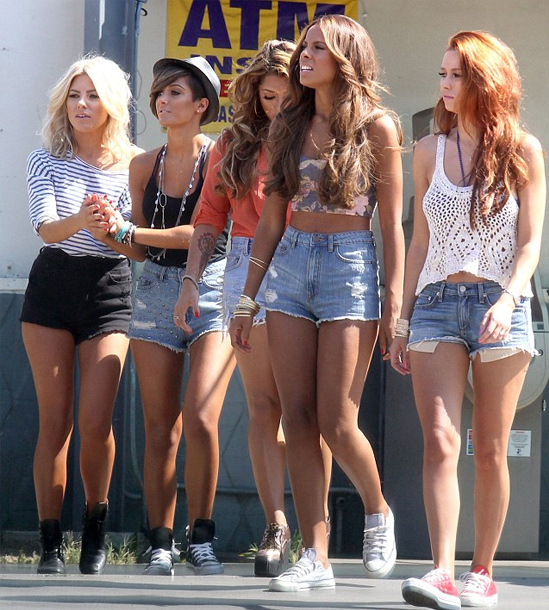The-Saturdays-Hairstyles