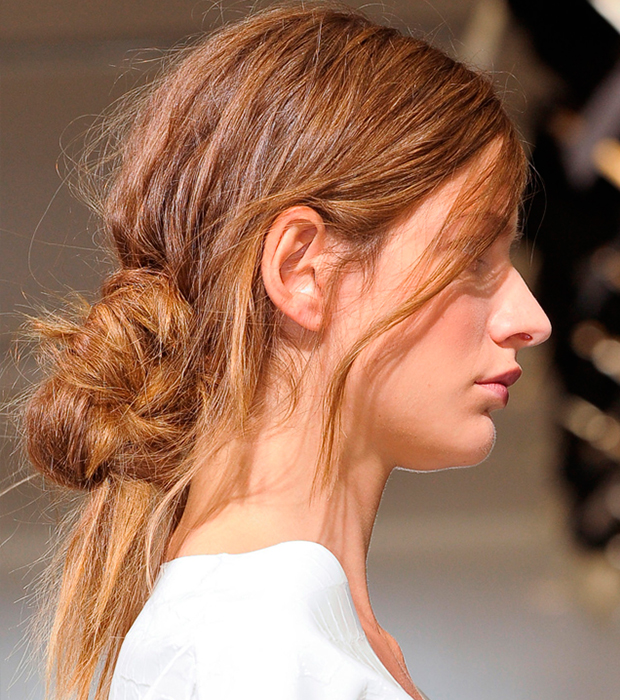 Summer Hair: knotted updos