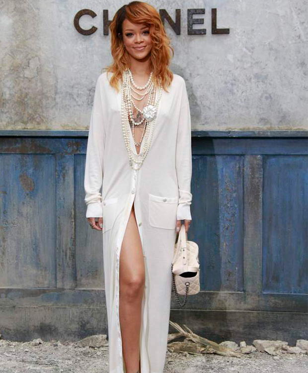 Rihanna at Chanel Paris Fashion Week