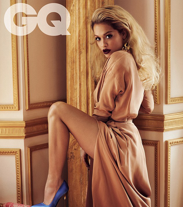 Rita Ora on the cover of GQ