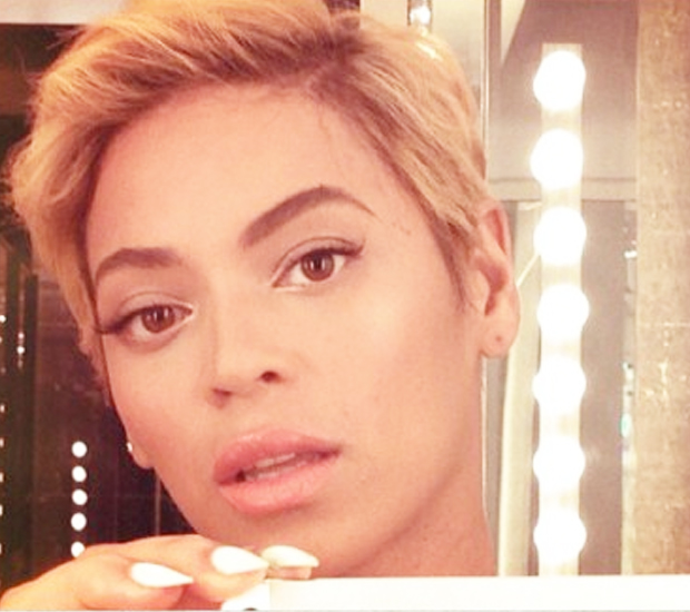 Whaaa Beyonce Gets A Pixie Cut Hair Extensions Blog Hair