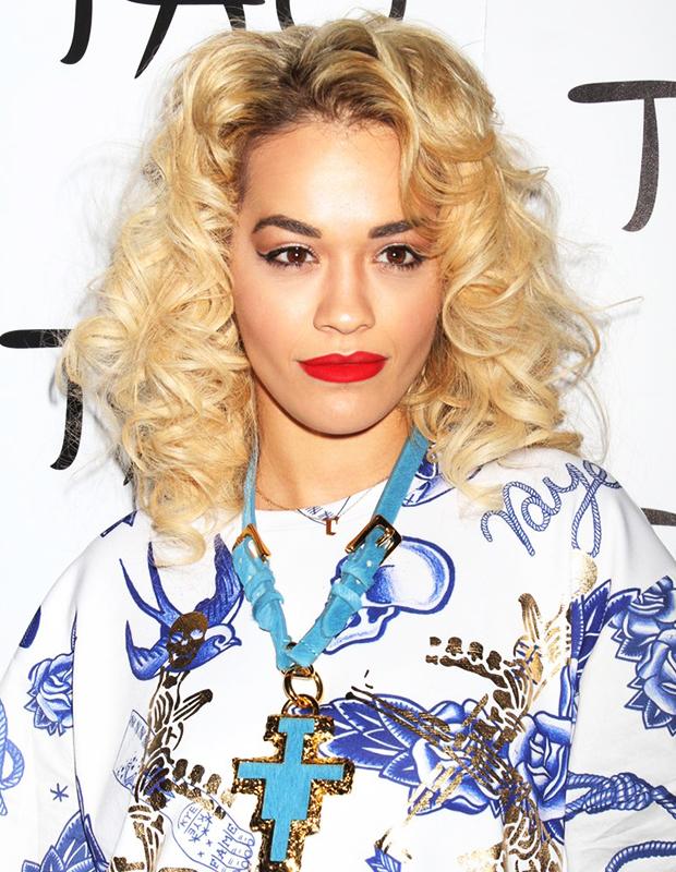 How to get Rita Ora's curls