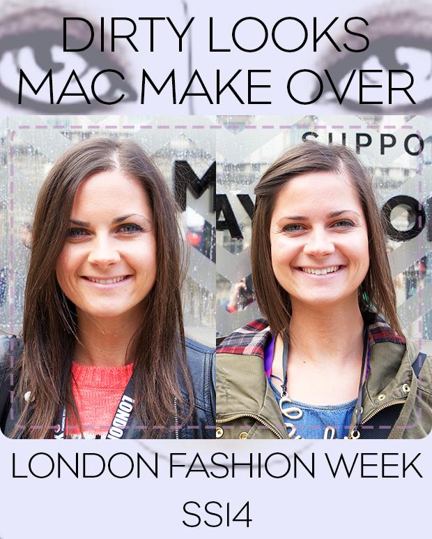 MAC Makeover at London Fashion Week
