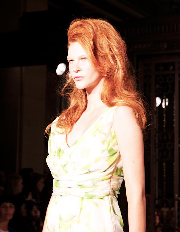 70s Hair at London Fashion Week