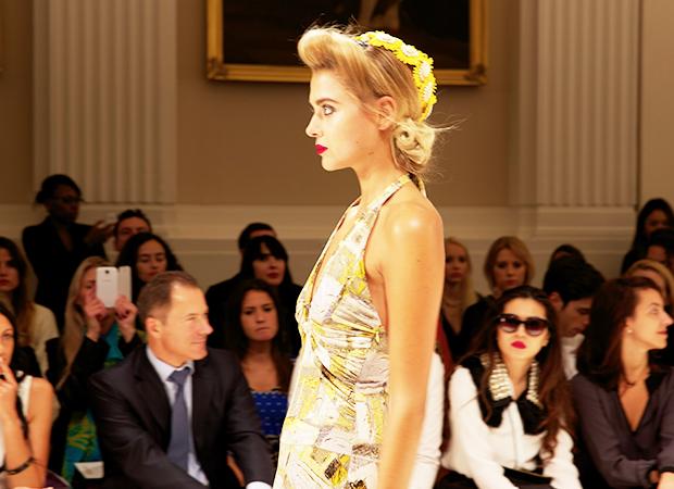 Glamour at London Fashion Week