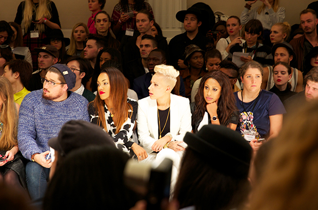 stooshe at London Fashion Week