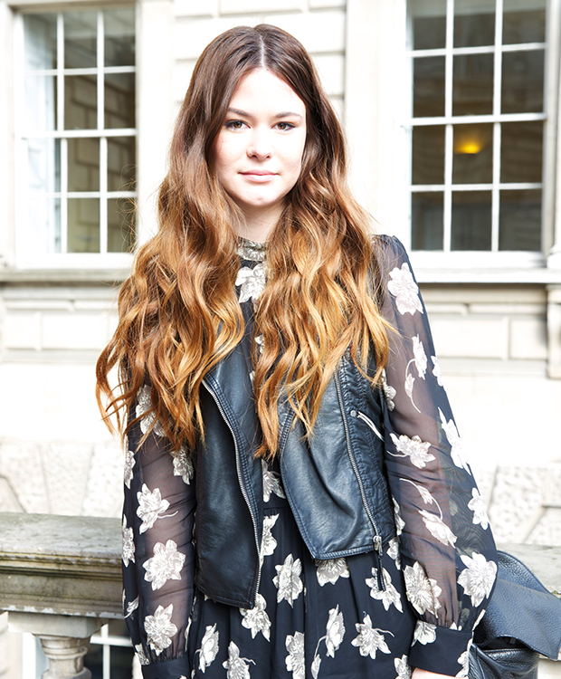 Street Style At London Fashion Week Hair Extensions Blog